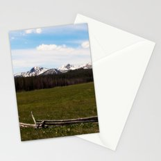 mountains. Stationery Cards