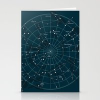 Space Hangout Stationery Cards