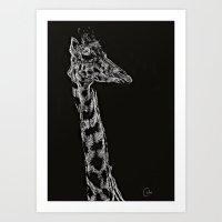 Distance Provides Perspective Art Print