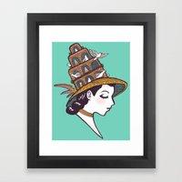 Bird House Couture Framed Art Print