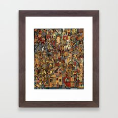 Lost In A Ghost Town Framed Art Print