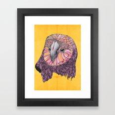 Lovely Owl (Feat. Bryan Gallardo) Framed Art Print