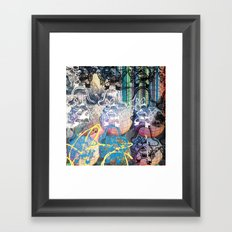 YOSEMITE/ STRIPES Framed Art Print