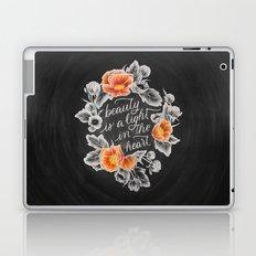 Beauty is a Light in the Heart Laptop & iPad Skin