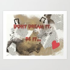 Rocky Horror - Don't Dream It... Art Print