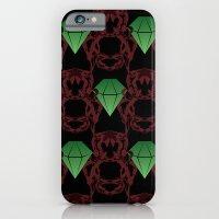 Emeralds & Demons [BLACK] iPhone 6 Slim Case