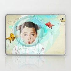 Fish Girl Laptop & iPad Skin
