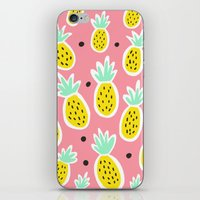 Pineapple Party iPhone & iPod Skin