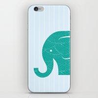 Fun At The Zoo: Elephant iPhone & iPod Skin