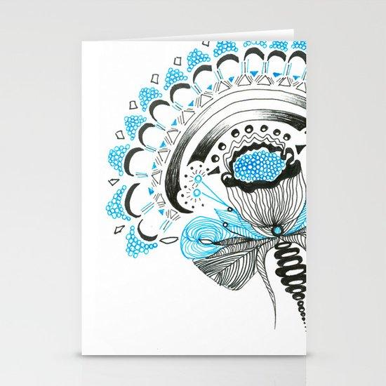 Blu(m)e Stationery Card