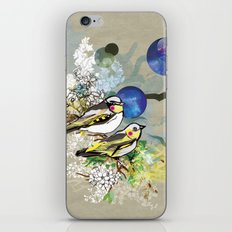 Yellow Birds iPhone & iPod Skin