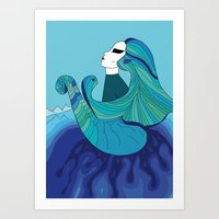 Elements - Water Art Print
