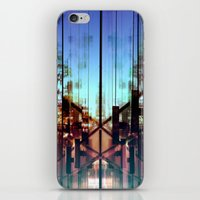 Flipped On iPhone & iPod Skin