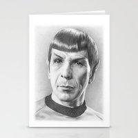Spock - Fascinating (Star Trek TOS) Stationery Cards