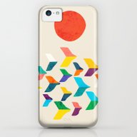 Great Bird Migration iPhone 5c Slim Case