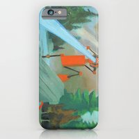 Robot in Landscape #1 iPhone 6 Slim Case