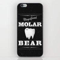 Molar Bear (Gentlemen's Edition) iPhone & iPod Skin