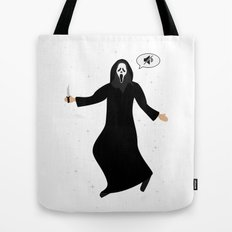 In space no one can hear you, scream Tote Bag