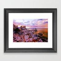 Mono County Rocks, Part … Framed Art Print