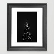 The Chrysler Building  Framed Art Print