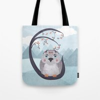Whimsical Bird Tote Bag