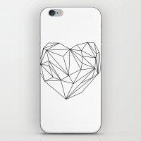 Heart Graphic (black On … iPhone & iPod Skin