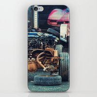 Bare Chassis iPhone & iPod Skin