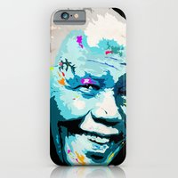 iPhone & iPod Case featuring Mandela Freedom by Ciaran Monaghan Art
