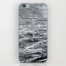 Fire Grass in Black and White iPhone & iPod Skin