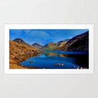 Wastwater English Lake D… Art Print