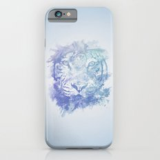 Abstract Watercolor Tiger Portrait / Face Slim Case iPhone 6s