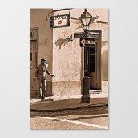 New Orleans Street Dance… Canvas Print
