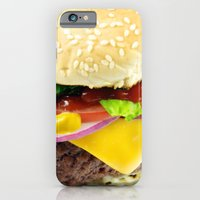 iPhone & iPod Case featuring Cheeseburger by @thecultureofme