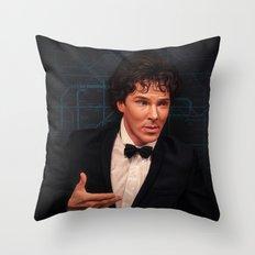 Donde estas Throw Pillow