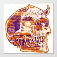 Satanic Panic Canvas Print