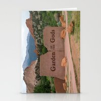 Garden Of The Gods - Col… Stationery Cards