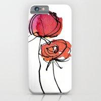 Red Ranunculus iPhone 6 Slim Case
