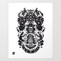 New fren shield Art Print
