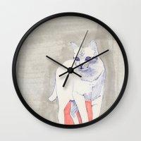 Cat 01 Wall Clock