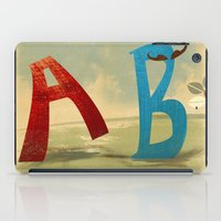 B, You Can't Catch Me! iPad Case