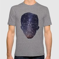 Sta Sta Starry Eyed Mens Fitted Tee Tri-Grey SMALL