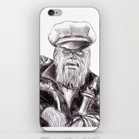 wookie wild one iPhone & iPod Skin
