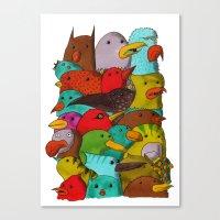 The Birds Of Monkland Vi… Canvas Print