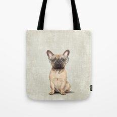 Mr French Bulldog Tote Bag