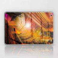 Sailing Ships Sunset Laptop & iPad Skin