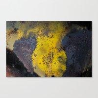 Abstract  Metallic Canvas Print