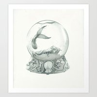 Waterworld Art Print