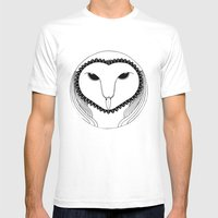 Oowll Mens Fitted Tee White SMALL