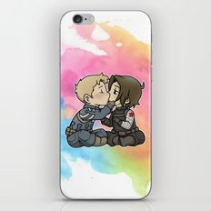 Stucky chibi kiss iPhone & iPod Skin