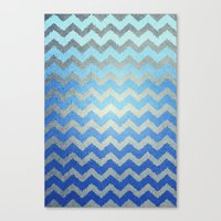 Thinking Of The Sea Canvas Print